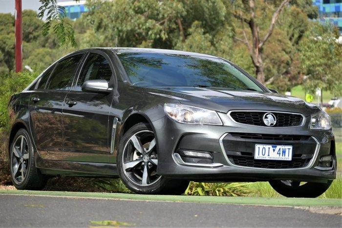 2017 Holden Commodore SV6 VF Series II MY17 Son of a Gun Grey
