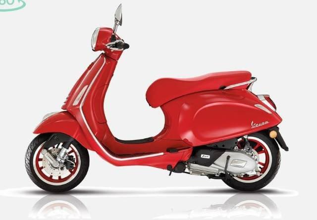 2021 VESPA PRIMAVERA 150 RED