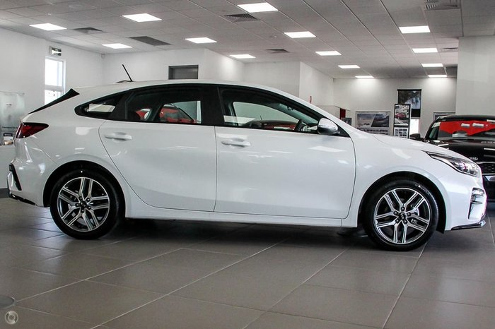 2021 Kia Cerato Sport BD MY21 White