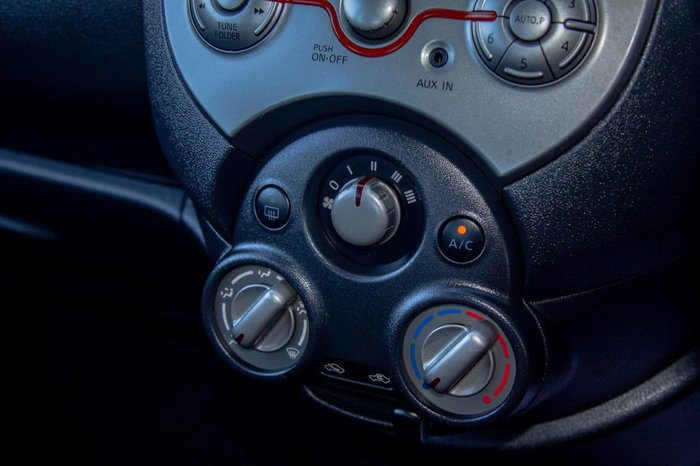 2011 Nissan Micra ST-L K13 Black