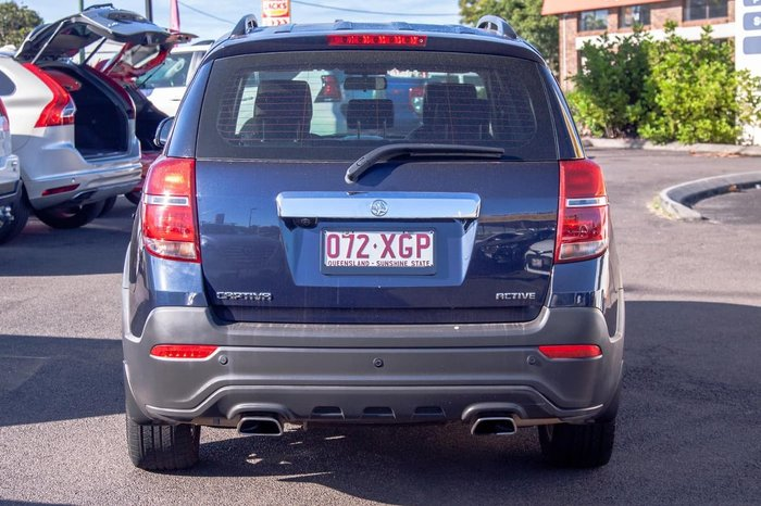 2016 Holden Captiva Active CG MY17 Blue