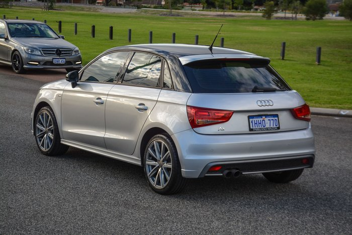 2013 Audi A1 Attraction 8X MY13 Ice Silver