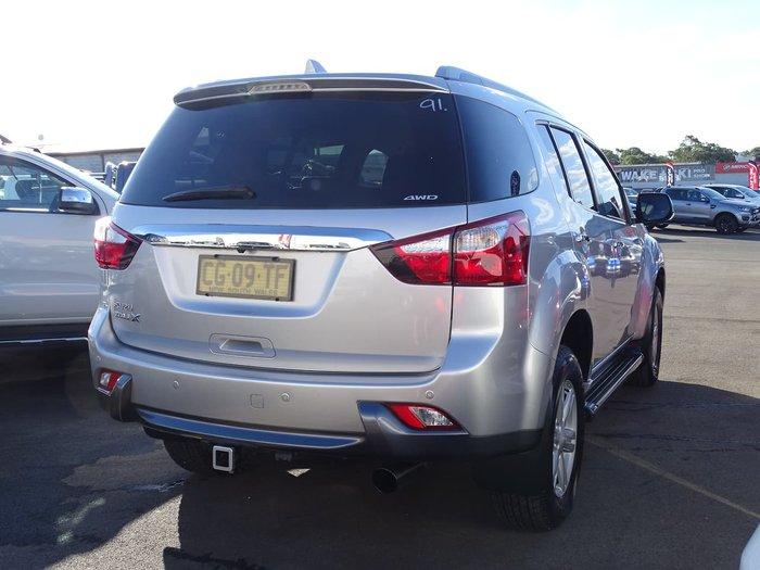 2016 Isuzu MU-X LS-T MY15 4X4 Dual Range Silver