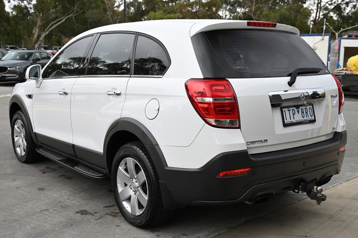 2017 Holden Captiva LS CG MY17 Summit White