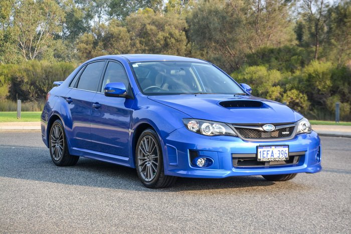 2013 Subaru WRX Premium V1 MY15 AWD WR Blue