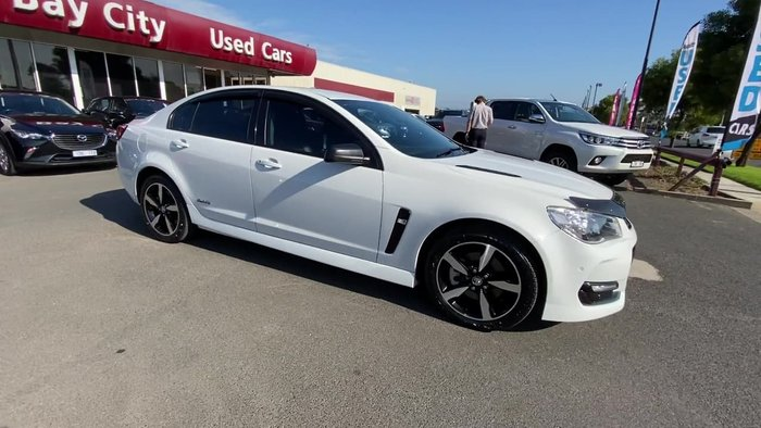 2016 Holden Commodore SS Black VF Series II MY16 White