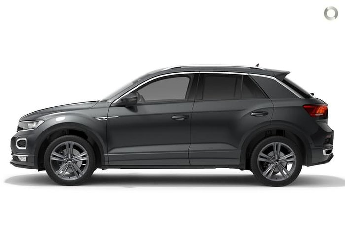 2021 Volkswagen T-Roc 140TSI Sport A1 MY21 Four Wheel Drive Indium Grey