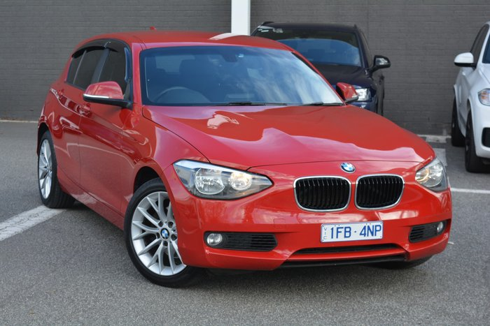 2014 BMW 1 Series 118i F20 MY14 Crimson Red