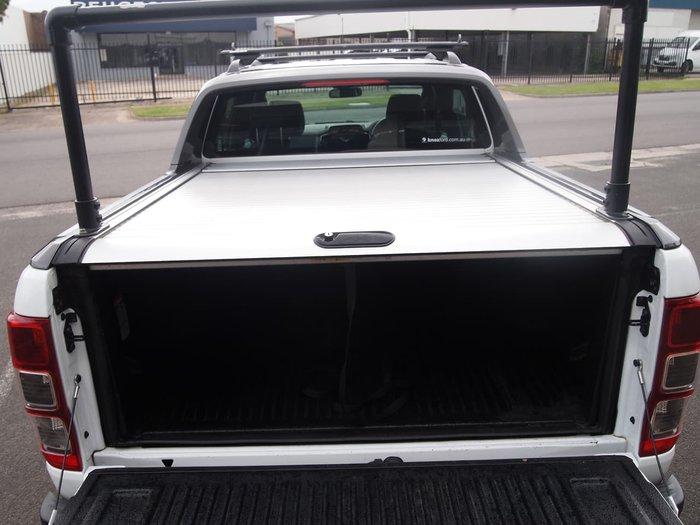 2018 Ford Ranger Wildtrak PX MkII MY18 4X4 Dual Range White