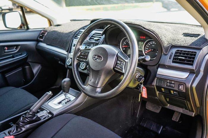 2013 Subaru XV 2.0i G4X MY13 AWD Tangerine Orange