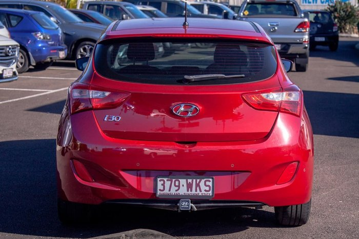 2015 Hyundai i30 Active GD3 Series II MY16 Red