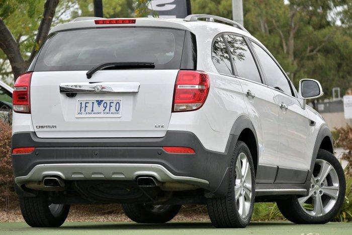 2015 Holden Captiva 7 LTZ CG MY15 AWD White