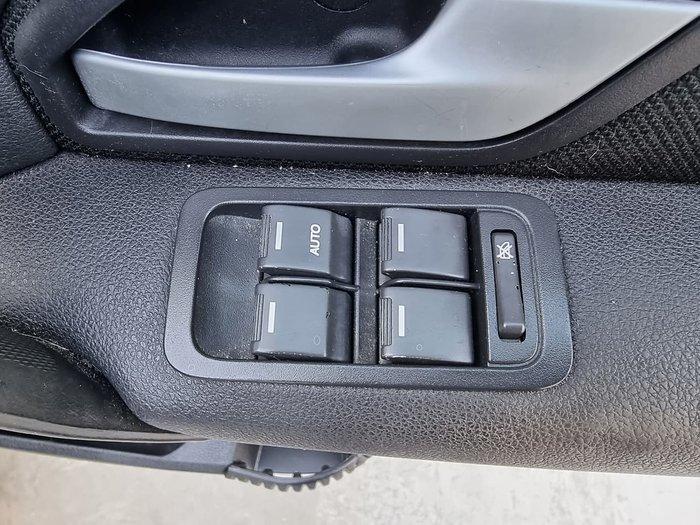 2011 Ford Territory TX SZ Silver