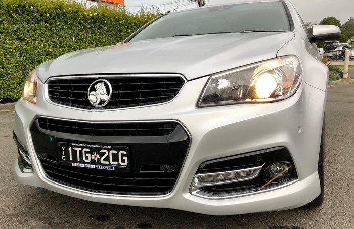 2013 Holden Commodore SS V Redline VF MY14 Silver