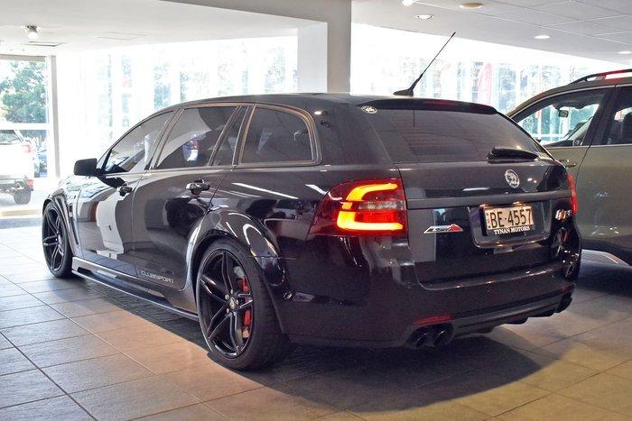 2017 Holden Special Vehicles Clubsport R8 Tourer LSA GEN-F2 MY17 Black