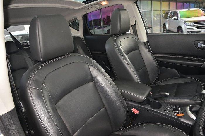 2013 Nissan Dualis Ti-L J10 Series 3 MY12 Silver