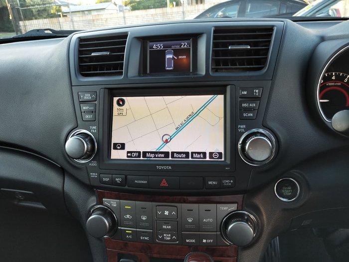 2013 Toyota Kluger Grande GSU45R AWD Grey
