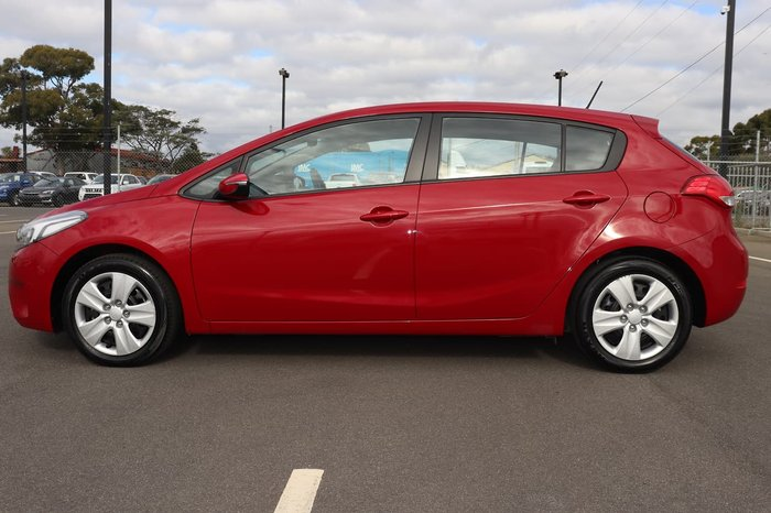 2018 Kia Cerato S YD MY18 Red