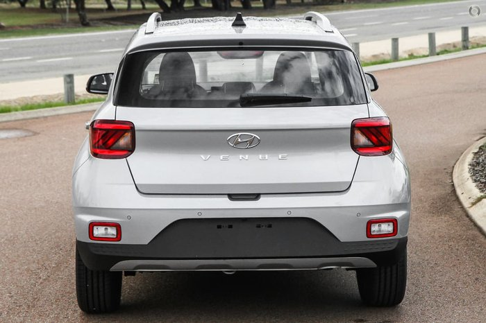 2021 Hyundai Venue Elite QX.V3 MY21 Typhoon Silver