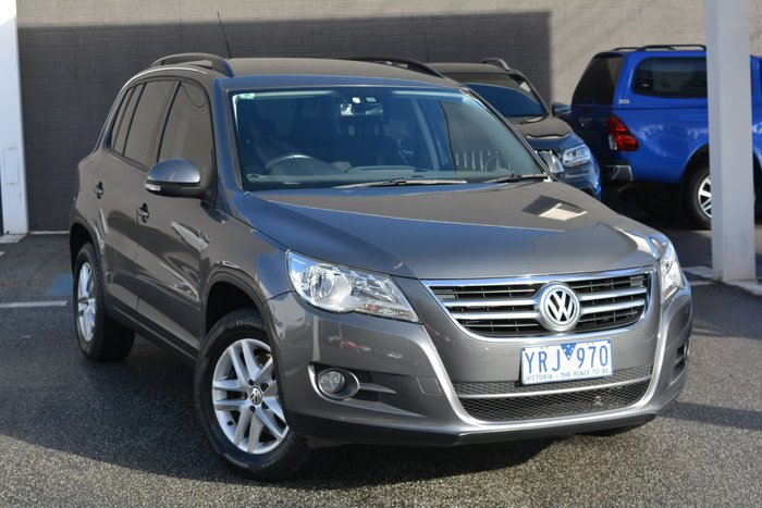 2010 Volkswagen Tiguan 103TDI 5N MY11 Four Wheel Drive Mountain Grey