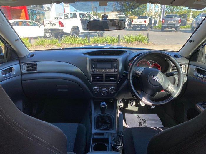 2008 Subaru Impreza WRX G3 MY08 AWD WR Blue
