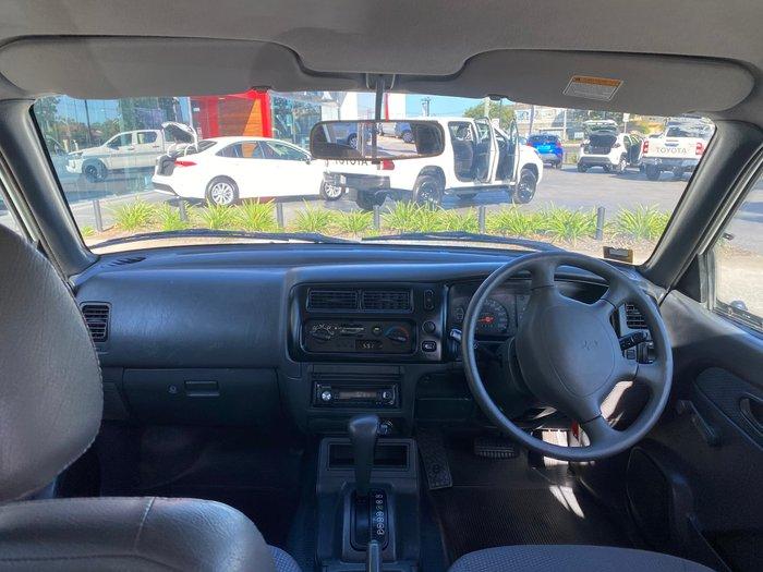 2002 Mitsubishi Triton GLS MK MY02 4X4 White