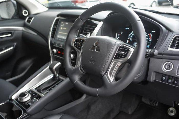 2021 Mitsubishi Pajero Sport Exceed QF MY21 4X4 Dual Range White
