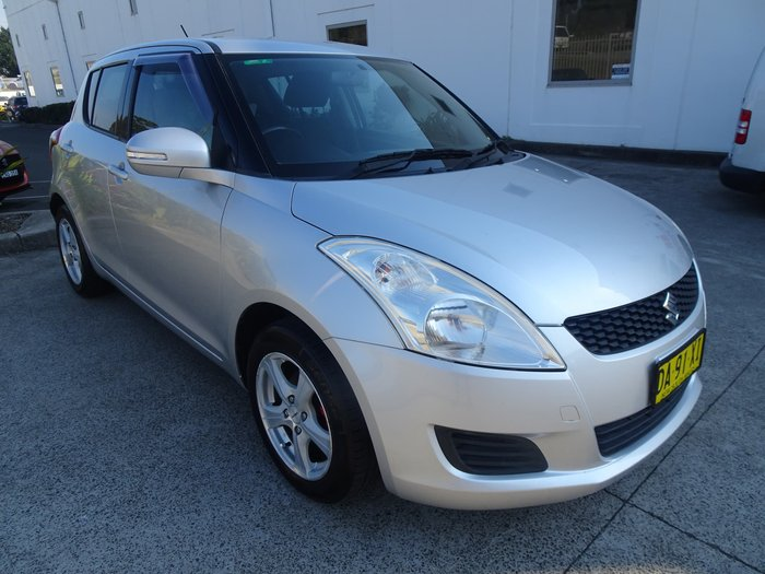 2011 Suzuki Swift GL FZ Silver