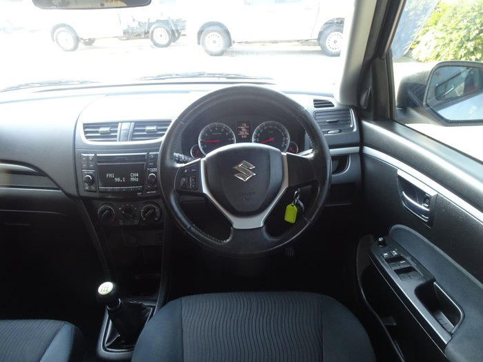 2011 Suzuki Swift GL FZ Silver