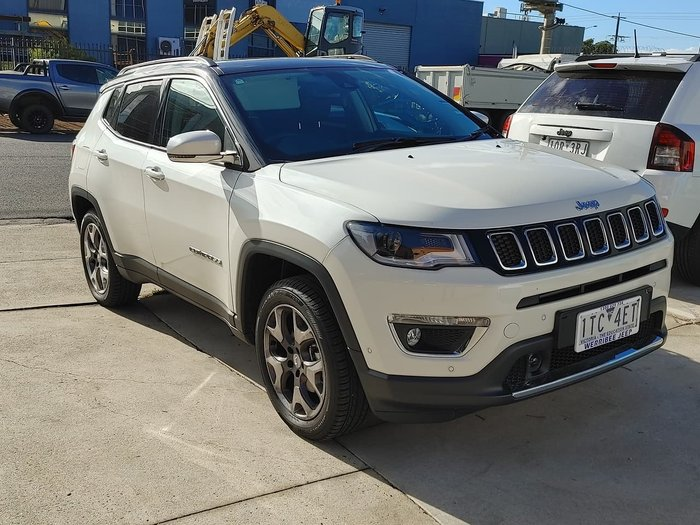 2020 Jeep Compass Limited M6 MY20 4X4 On Demand White