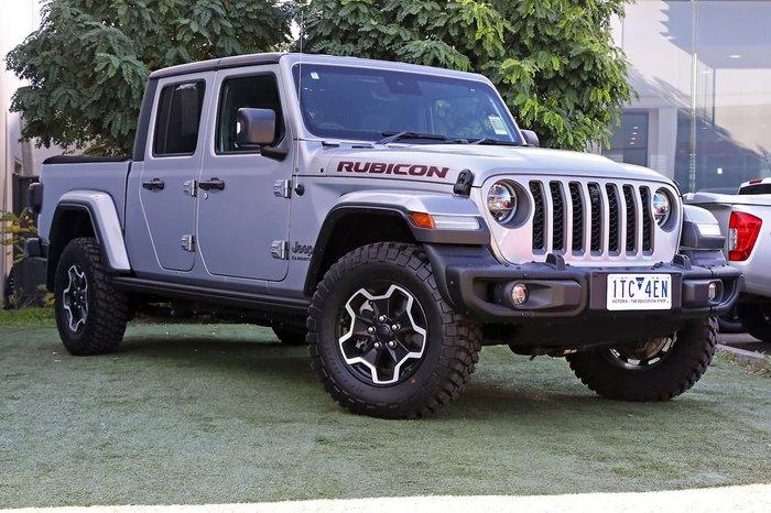 2020 Jeep Gladiator Rubicon JT MY20 4X4 On Demand Silver