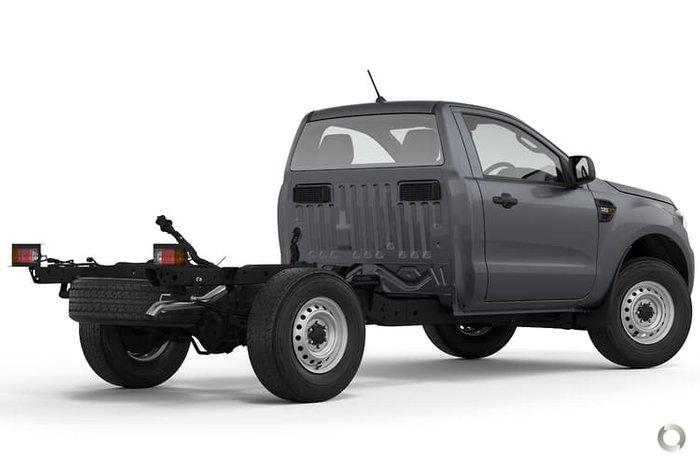 2021 Ford Ranger XL PX MkIII MY21.25 4X4 Dual Range Meteor Grey