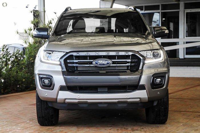 2021 Ford Ranger Wildtrak PX MkIII MY21.25 4X4 Dual Range Silver