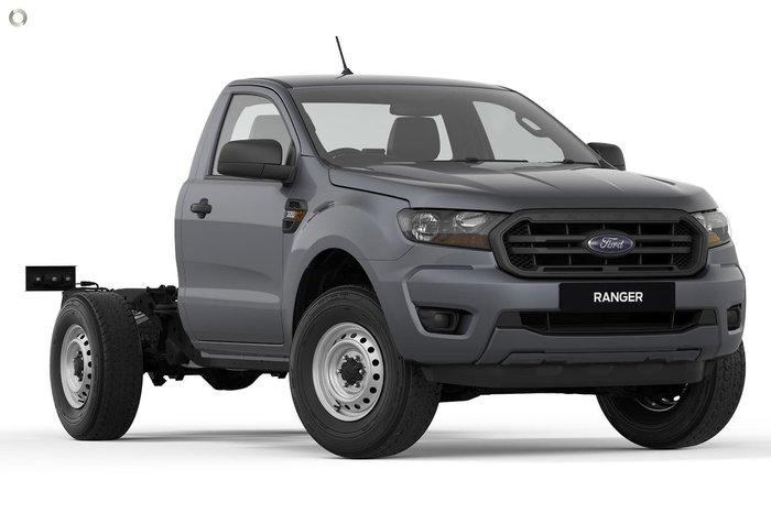 2021 Ford Ranger XL PX MkIII MY21.25 4X4 Dual Range Grey