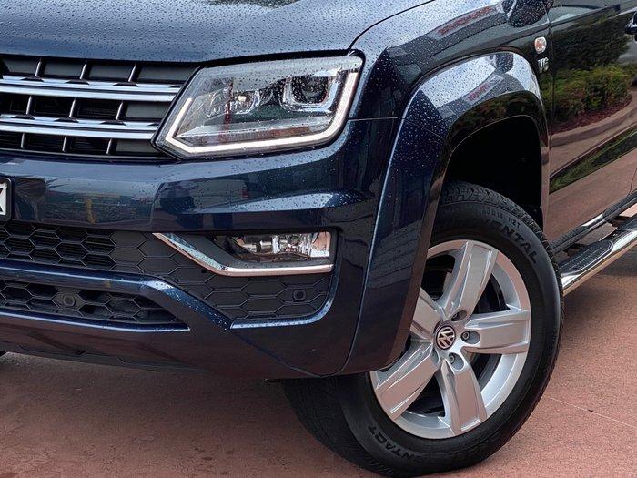 2019 Volkswagen Amarok TDI550 Highline 2H MY19 4X4 Constant Starlight Blue