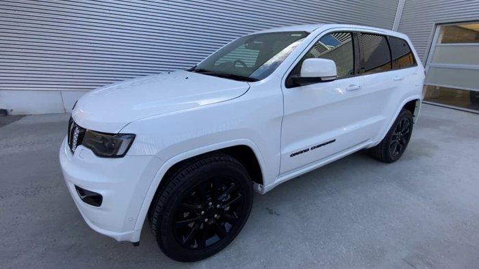2018 Jeep Grand Cherokee Blackhawk WK MY18 4X4 Dual Range White