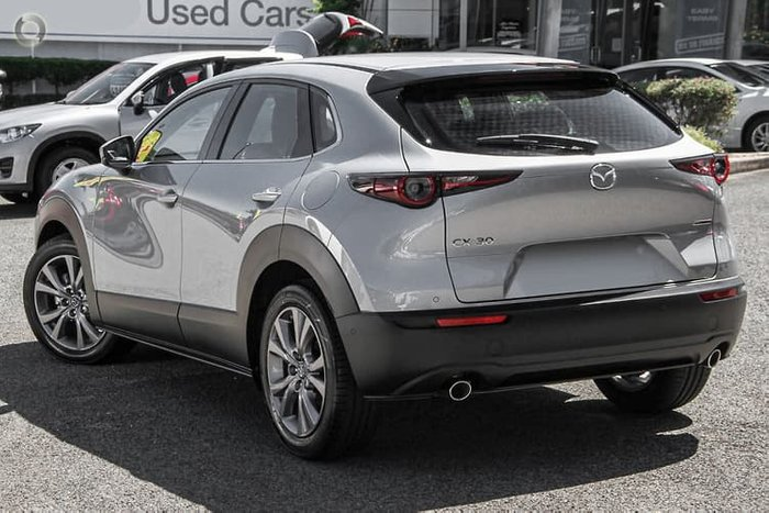 2021 Mazda CX-30 G20 Touring DM Series Sonic Silver