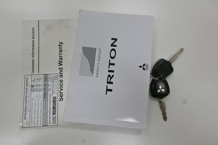 2015 Mitsubishi Triton GLX MQ MY16 4X4 Dual Range Sterling Silver