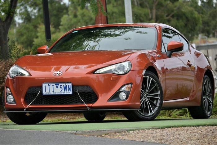 2013 Toyota 86 GTS ZN6 Velocity Orange