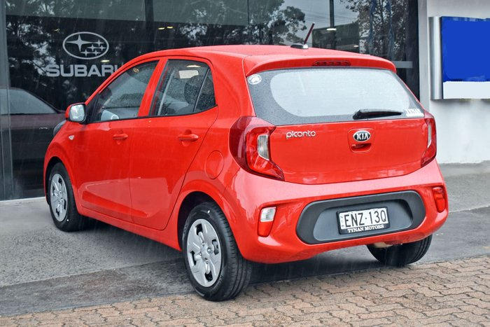 2021 Kia Picanto S JA MY21 Signal Red
