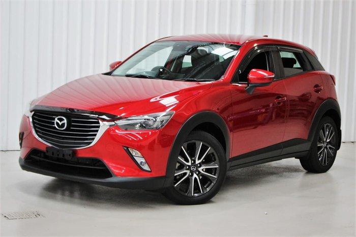 2016 Mazda CX-3 sTouring DK AWD Red