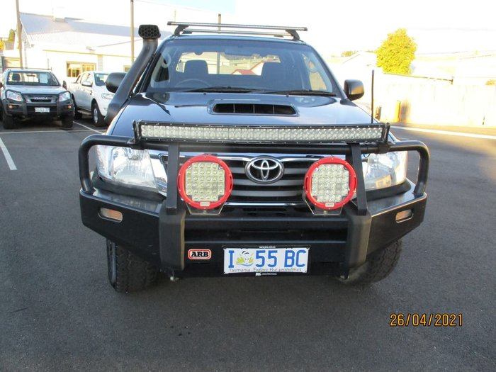 2013 Toyota Hilux SR KUN26R MY12 4X4 Grey