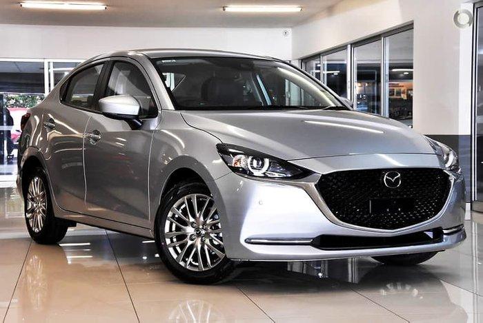 2021 Mazda 2 G15 GT DL Series Sonic Silver
