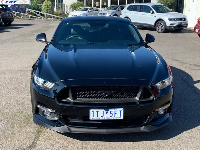 2017 Ford Mustang GT FM MY17 Shadow Black