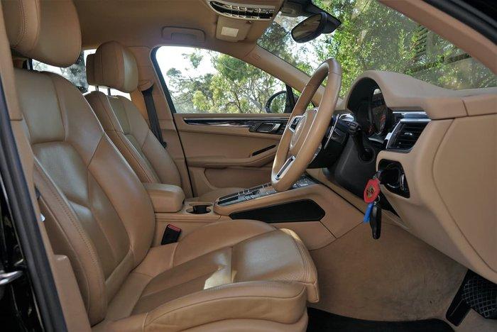 2015 Porsche Macan S Diesel 95B MY15 AWD Black