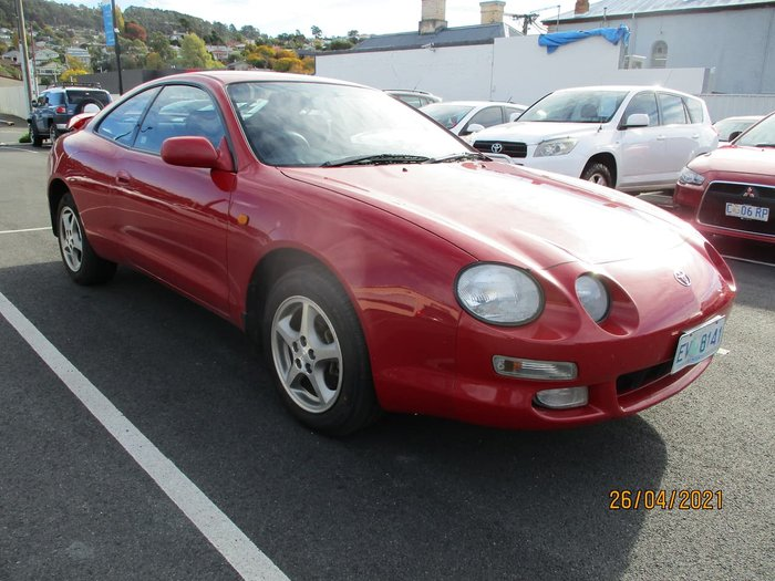 1998 Toyota Celica SX ST204R Red