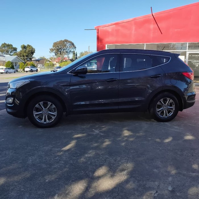 2013 Hyundai Santa Fe Active DM MY14 4X4 On Demand Blue