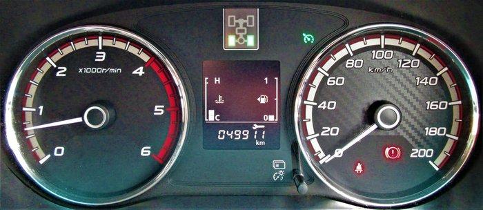 2017 Mitsubishi Triton GLS MQ MY17 4X4 Dual Range Black