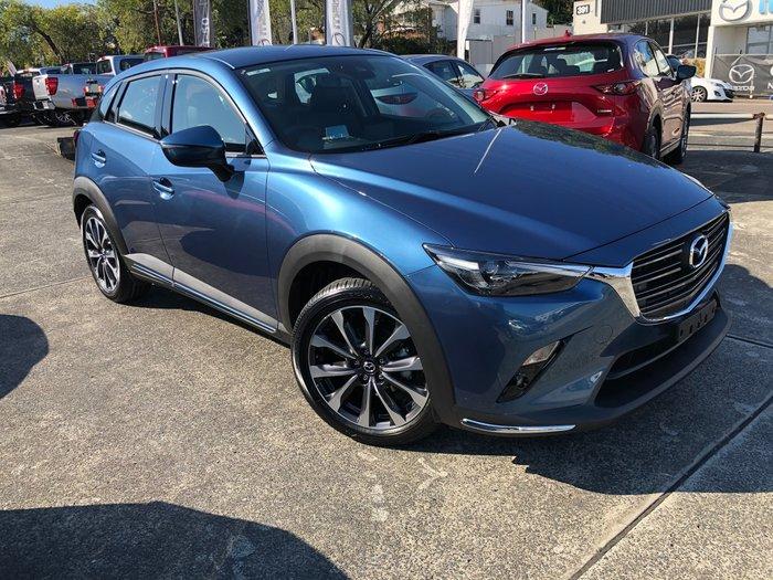 2021 Mazda CX-3 sTouring DK Eternal Blue
