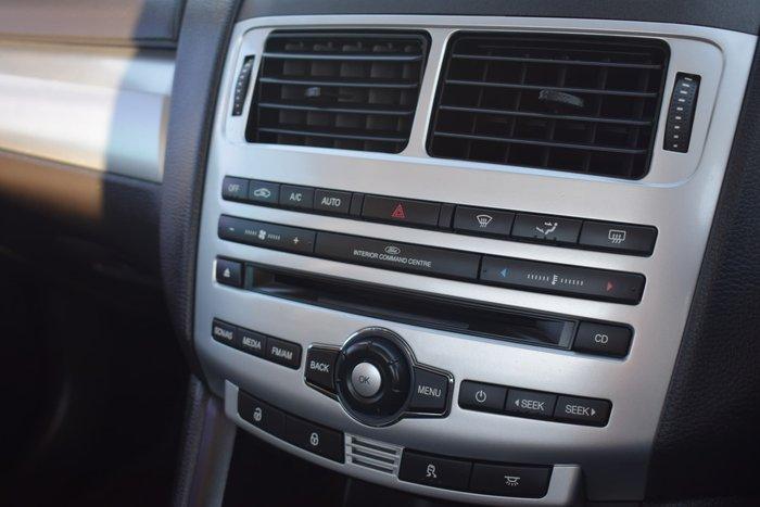 2013 Ford Falcon Ute XR6 FG MkII Silhouette